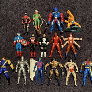 Lot of Marvel Action Figures for Sale in Morrisville, PA