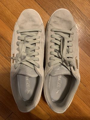 Light grey sneakers size 9.5 puma for Sale in Jefferson City, MO