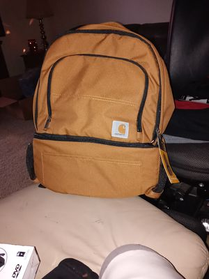 Carhartt backpack and Carhartt cooler backpack all in one for Sale in Plainfield, IN