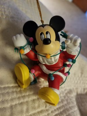 Disney Mickey Mouse collectible ornament for Sale in Clinton, WA