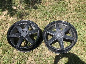 5x115 niche pair (2) for Sale in Del Valle, TX