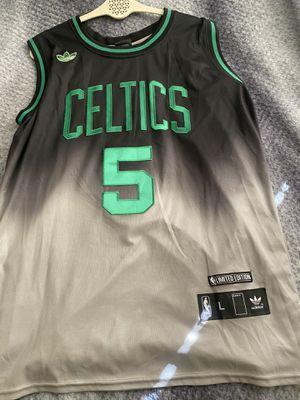 Kevin Garnett Limited Edition Celtics Jersey Fade Adidas Large for Sale in Bellevue, WA