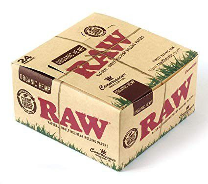 Raw with tips 24 pk