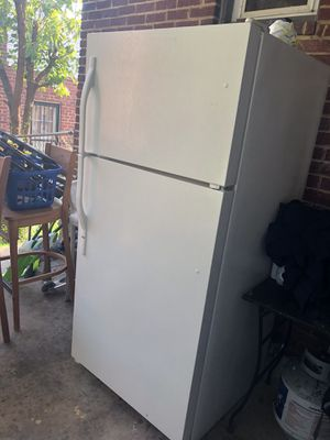 All white refrigerator for Sale in College Park, MD