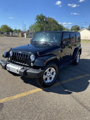 2015 Jeep Wrangler SAHARA Edition for Sale in Dearborn, MI