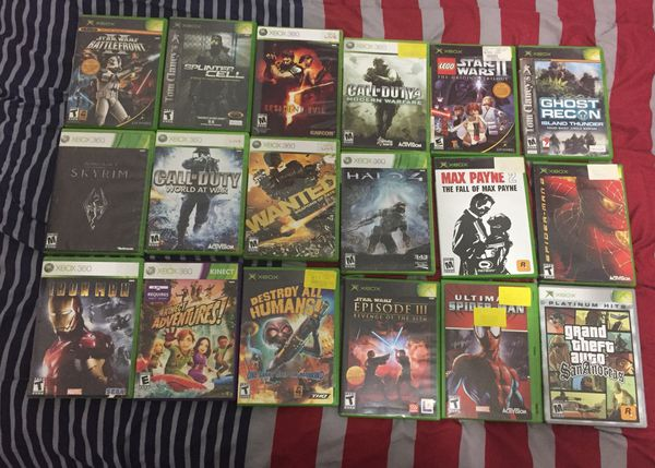 XBOX 360 250 GB Used With a Controller & Games