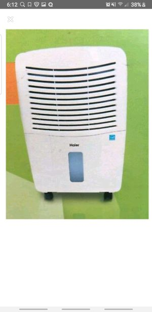 Haier Energy Star 50 Point Rolling Electronic Dehumidifier for Sale in Los Angeles, CA