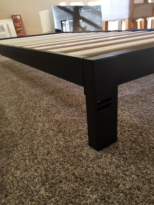 Twin metal bed frame for Sale in Enumclaw, WA