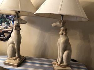 Dog shape lamps for Sale in Littleton, CO