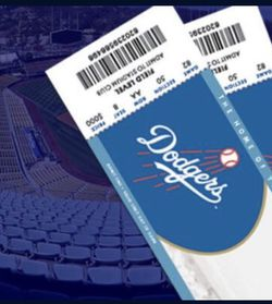 Dodgers Tickets! Spring Training . Monday March 8! for Sale in Fontana,  CA