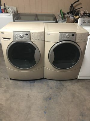 Washer and dryer electric kenmore elite he4t super capacity plus whit warranty delivery available $500 obo for Sale in Phoenix, AZ