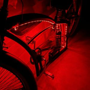 """Baddass Custom 26""""stretch Beach Cruiser ( Downbikes ) Brand With Single Switch Hydraulic Air Ride With LEDs for Sale in Loma Linda, CA"""