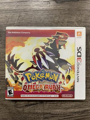 Pokémon Omega Ruby Nintendo 3DS / Like New for Sale in Puyallup, WA