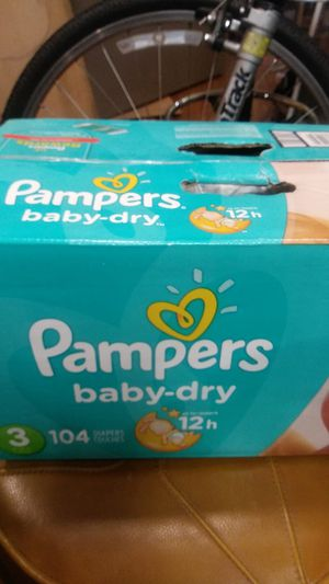 Brand new pampers size 3 , 104 count for Sale in Federal Way, WA