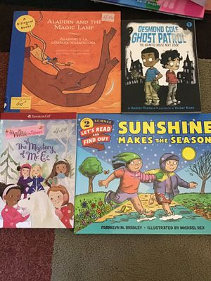 Books each 4 dollars for Sale in Salinas, CA