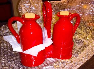 *Brand New* Red Kitchen Carafe Earthware for Sale in Las Vegas, NV