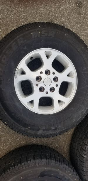 2002 Grand Cherokee wheel's. for Sale in Salinas, CA