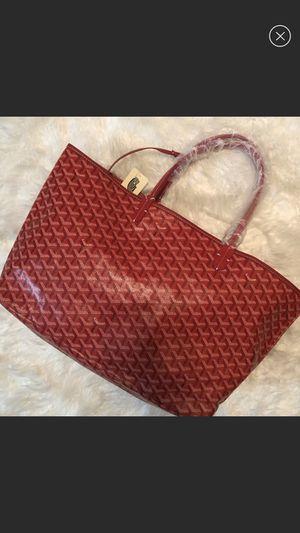 Red Goyard Louis Tote Bag Purse for Sale in Lilburn, GA