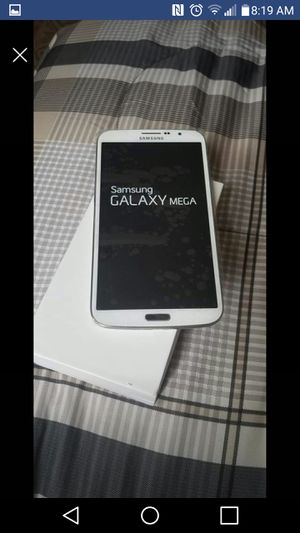 Galaxy mega at&t unlocked mint condition $110 for Sale in Washington, DC