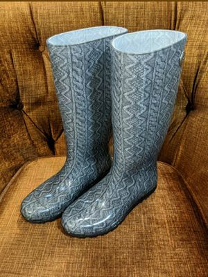 UGG Shaye Waterproof Ladies Rain Boots Size 5 for Sale in Chicago, IL