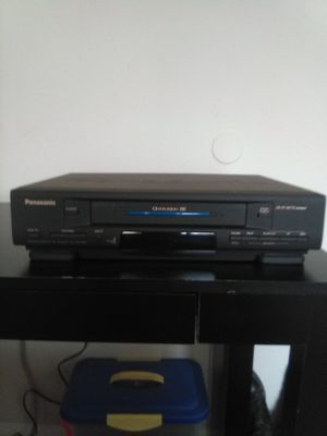 Panasonic VCR with audio/video hook-ups for Sale in BELLEAIR BLF, FL