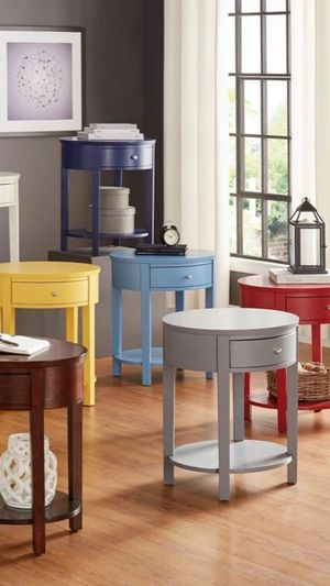 💯Zenobia Grey Side End Table byGlobal for Sale in Baltimore, MD