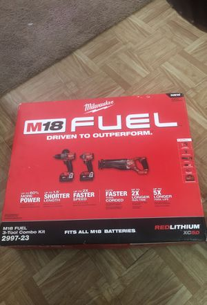 M18 Fuel 3-tool combo kit for Sale in Dallas, TX