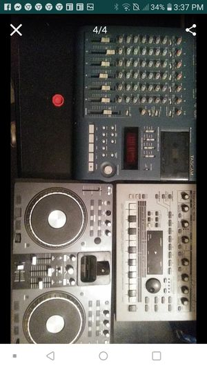 All 3 90s vintage DJ equipment bundle deal for Sale in Tumwater, WA