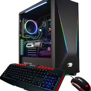 iBUYPOWER Gaming PC Computer Desktop Element 9260 (Intel Core i7-9700F 3.0Ghz, NVIDIA GeForce GTX 1660 Ti 6GB, 16GB DDR4, 240GB SSD, 1TB HDD, Wi-Fi for Sale in New York, NY