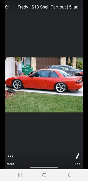 240sx S13 Rear Coupe Bumper for Sale in Ocean Ridge, FL