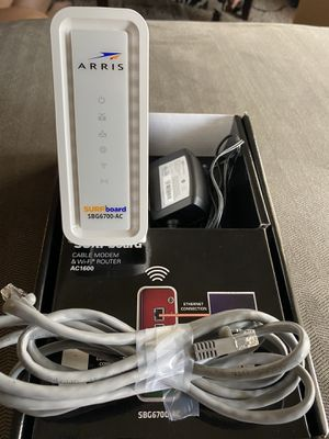 Cable modem and WiFi router for Sale in Surprise, AZ