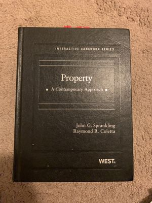 Property text book for Sale in Pittsburgh, PA