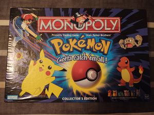 ***POKÉMON VINTAGE MONOPOLY BOARD GAME*** for Sale in Oyster Bay, NY