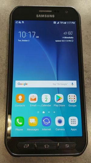 GSM UNLOCKED Samsung Galaxy S6 Active 32gb Black Android Smart Cell Phone for Sale in Vancouver, WA