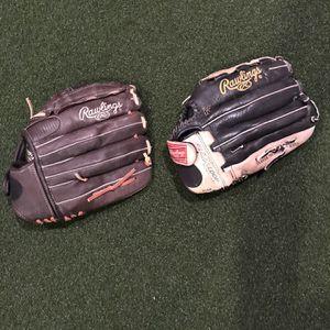 Lefty's softball/baseball Gloves for Sale in Pomona, CA