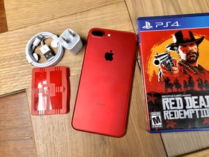 RED 128GB iPhone 7 Plus Factory Unlocked (7+). for Sale in New York, NY