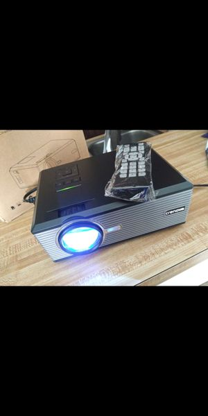 """New Crenova Projector Displays 130""""support Hd 1080P USB, Sd Card, VGA, HDMI, PS4/XBOX, LAPTOP Etc. $50 (I HAVE MULTIPLE) for Sale in Ontario, CA"""