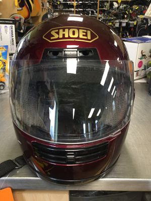 Shoei RF 200 motorcycle helmet red size large for Sale in Marlboro Township, NJ