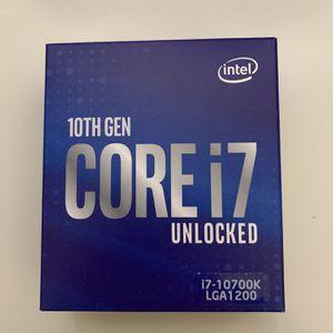 10th Gen Core i7 Unlocked 10700k 3.8GHZ for Sale in San Francisco, CA
