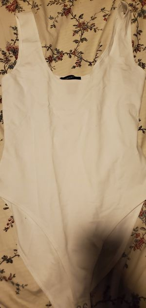 New never wore one piece white medium blouse for Sale in Bellflower, CA