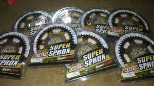 Motorcycle Sprocket Super sprox Supersprox Suzuki GSX-R600 11-16, GSXR750 11-16, GSX-S1000 GSXS750 Yamaha for Sale in Atlanta, GA