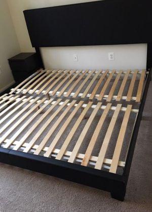 King bed frame modern for Sale in Franconia, VA