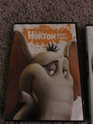Horton hears a who & Rio movie for Sale in Gaithersburg, MD