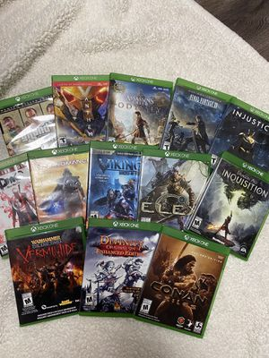 Xbox 1 Games Collection for Sale in Tampa, FL