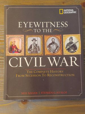 Eyewitness to the civil war for Sale in Campbell, CA