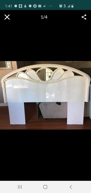 Made in Italy beautiful headboard bed queen for Sale in Alhambra, CA