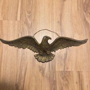 Gold metal eagle antique vintage for Sale in Fort Pierce, FL