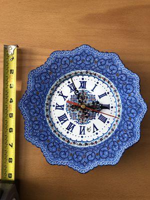 Handmade brass wall clock for Sale in Lansdowne, VA