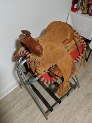 Kid Pony Saddle for Sale in Island Lake, IL