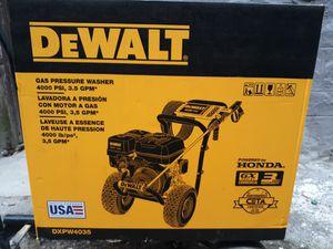 Dewalt 4000 psi pressure washer (NEW) for Sale in Bronx, NY